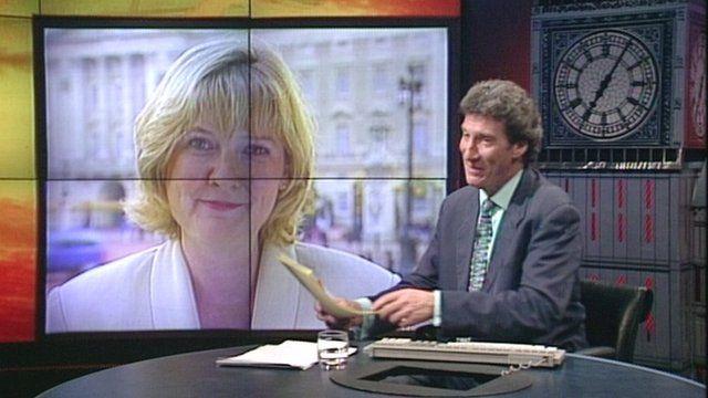 Martha Kearney and Jeremy Paxman