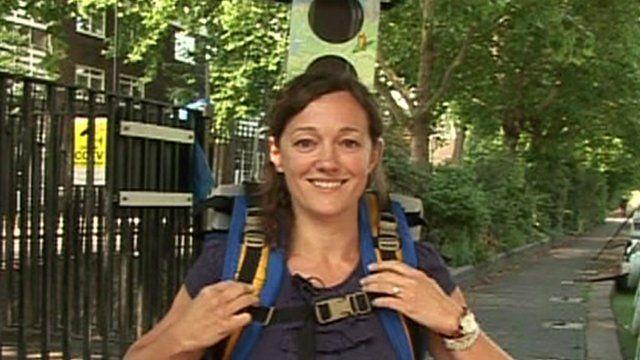 Google Trekker backpack