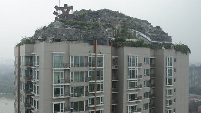 Block of flats in China
