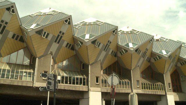 Unusual Dutch building