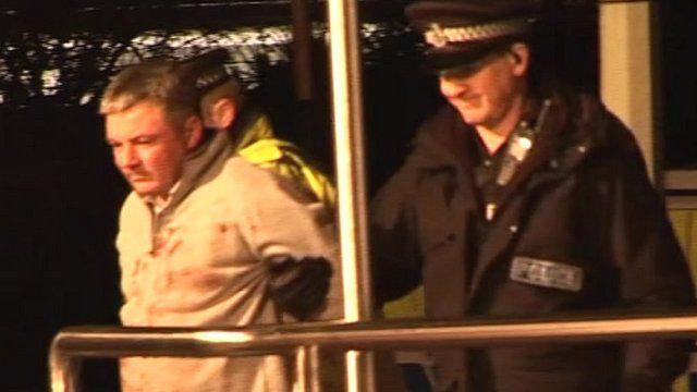 Arrest of Mark McLees
