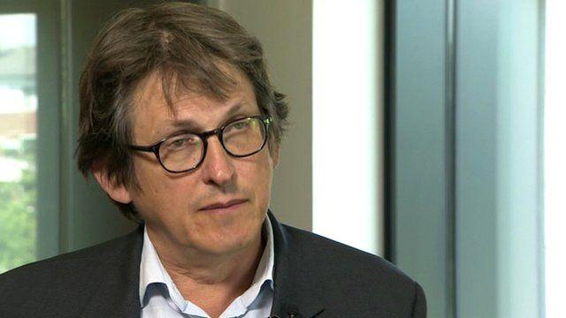 Alan Rusbridger, Editor of The Guardian