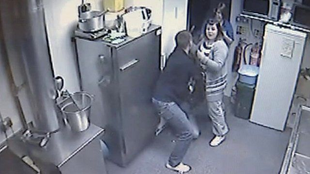 Scene of the robbery