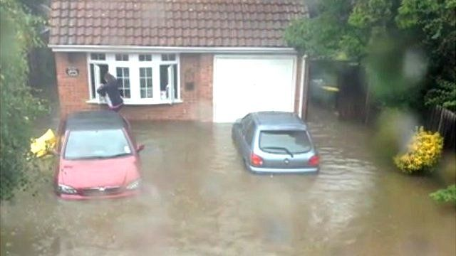 Flooding in Essex