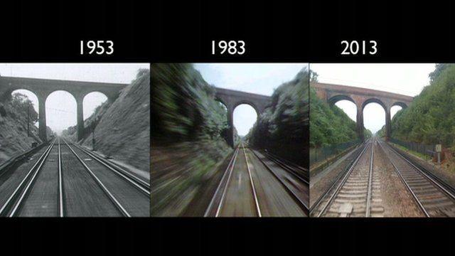 The London to Brighton train ride