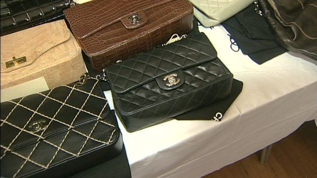 Designer bags up for auction