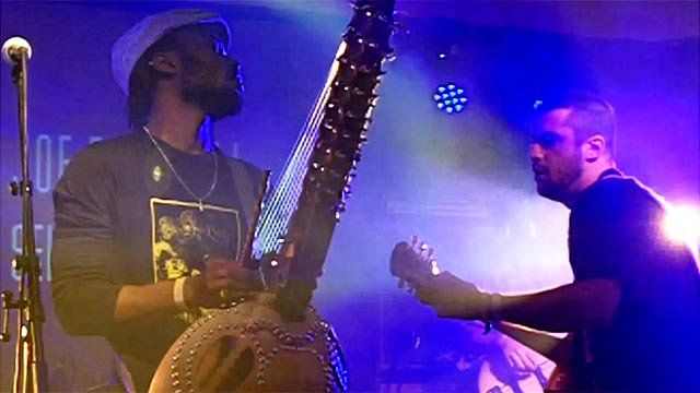 Sekou Kouyate and Joe Driscoll