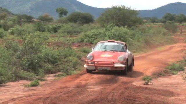 Porsche in East African Classic Rally