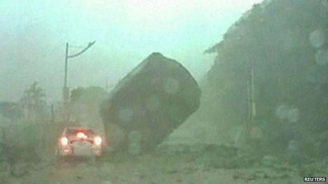 Landslide in Taiwan