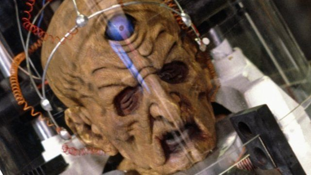 Davros, leader of the Daleks from Doctor Who