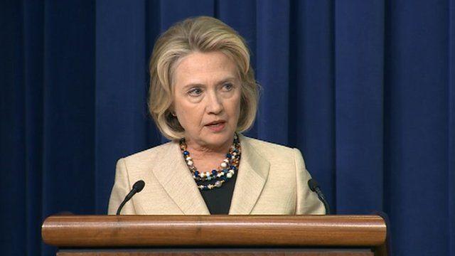 Hillary Clinton speaks on Syria 9 September 2013