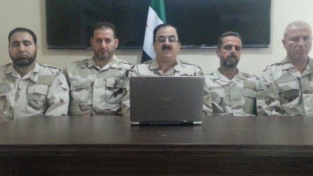 Free Syrian Army statement