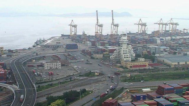 Chinese port