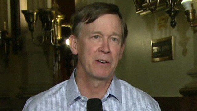 Governor John Hickenlooper