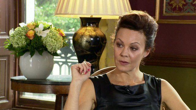 Actress Helen McCrory