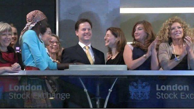 Nick Clegg and women