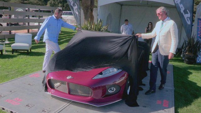 New Spyker car is unveiled