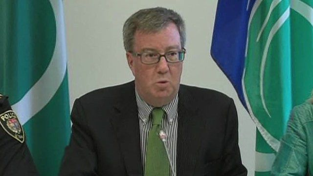 Mayor of Ottawa Jim Watson