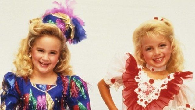 Child beauty pageant queens.