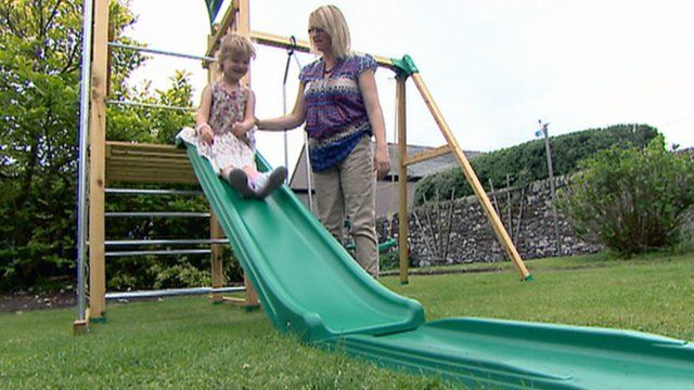 Arthritis sufferer Lucy and her mother