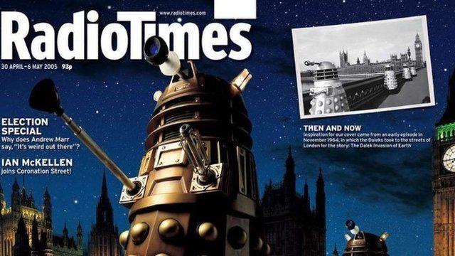 Radio Times Dalek cover