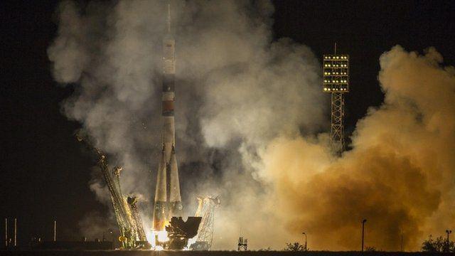 Soyuz TMA-10M spacecraft