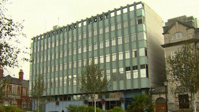 The Evening Post building, Swansea