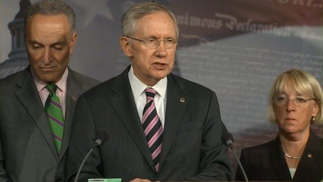 Senate Democratic Leader Harry Reid