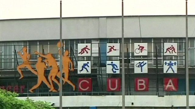 Stadium in Cuba