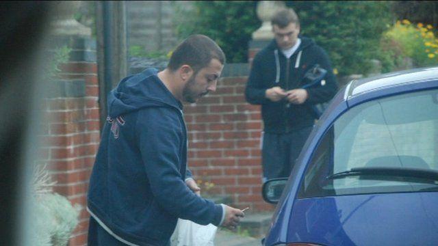 Hampshire police secret footage