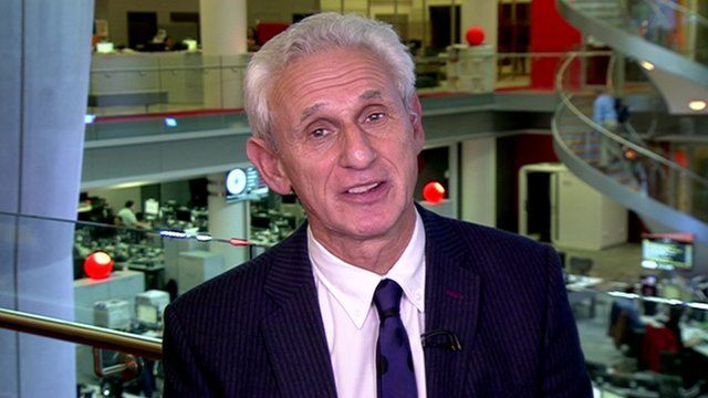 Daily Mail City Editor Alex Brummer