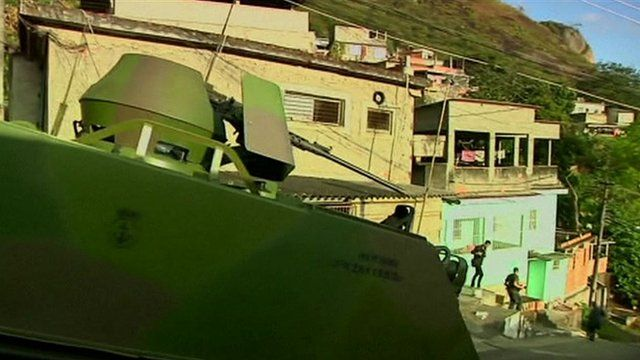 Security operation in Rio de Janeiro