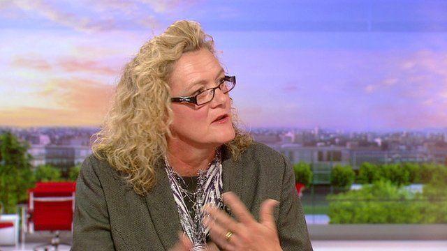 Care manager Tina Blake