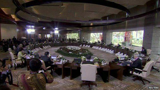 Asia-Pacific Economic Co-operation (Apec) summit