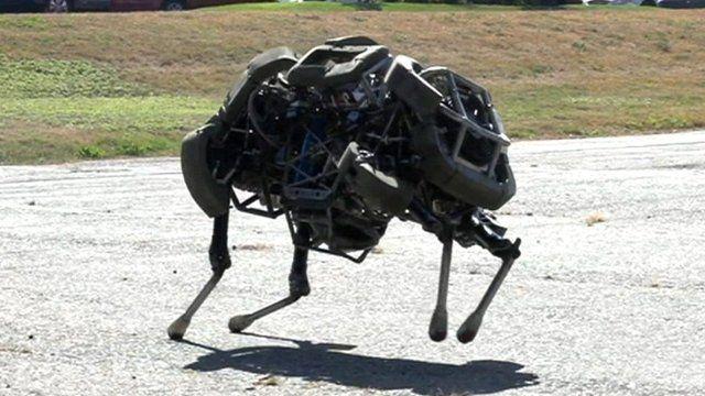 WildCat robot by Boston Dynamics