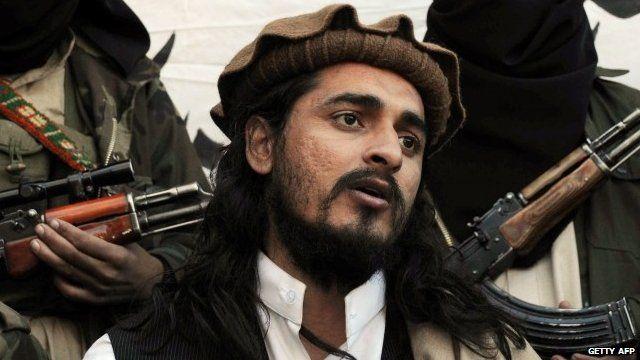 File photograph taken on November 26, 2008, shows Pakistani Taliban commander Hakimullah Mehsud