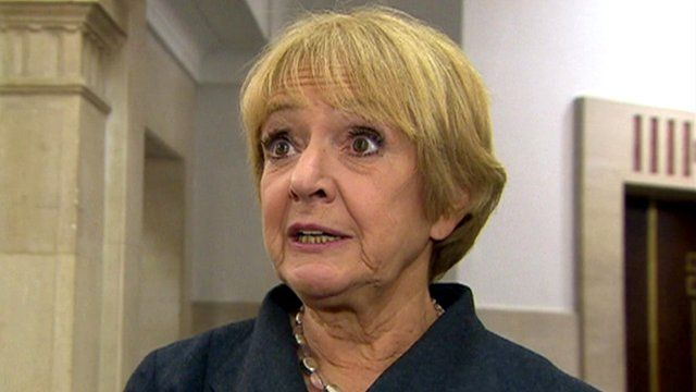 Public Accounts Committee chairperson Margaret Hodge