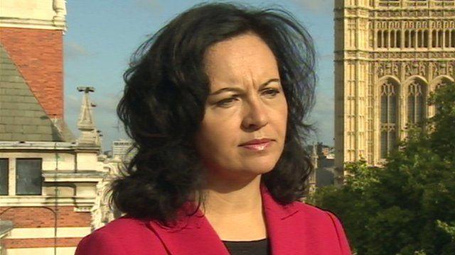 Shadow Energy Secretary Caroline Flint