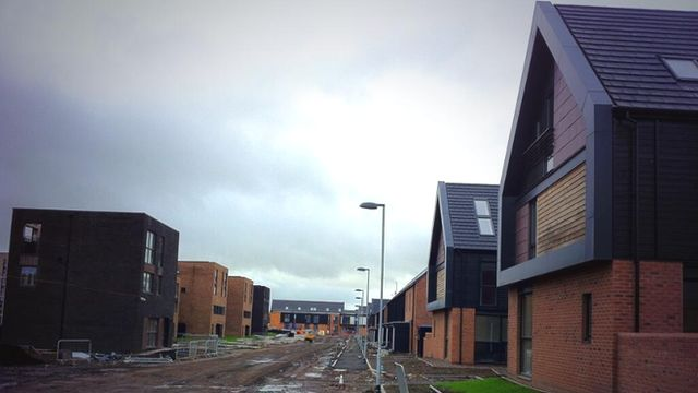 The Commonwealth Games athletes' village in Glasgow