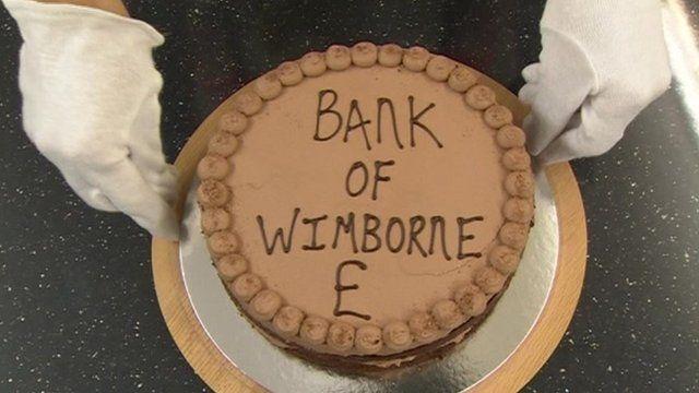 Bank of Wimborne cake