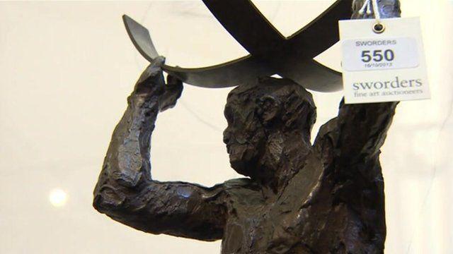 Elizabeth Frink sculpture