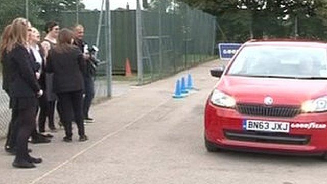 Driving scheme at Swadelands High School in Lenham