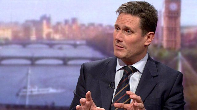 Director of Public Prosecutions Keir Starmer on the Andrew Marr Show