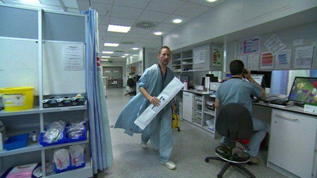 St George's Emergency Department in Tooting