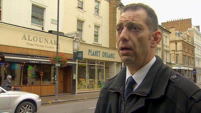 Eyewitness George Paul