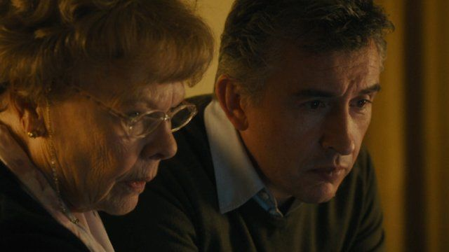 Judy Dench and Steve Coogan