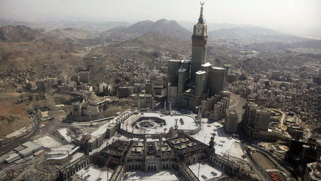 Holy city of Mecca