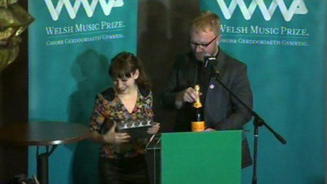 Welsh Music Prize award 2013 - Georgia Ruth