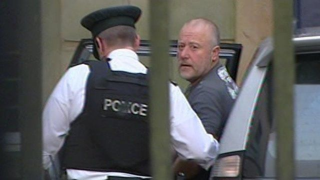 Kieran McLaughlin appeared in court on Saturday