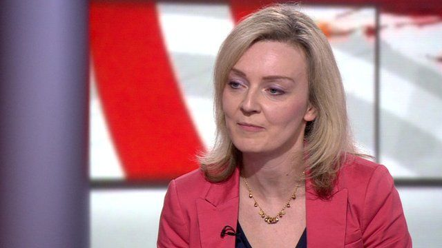 Conservative Education Minister Liz Truss